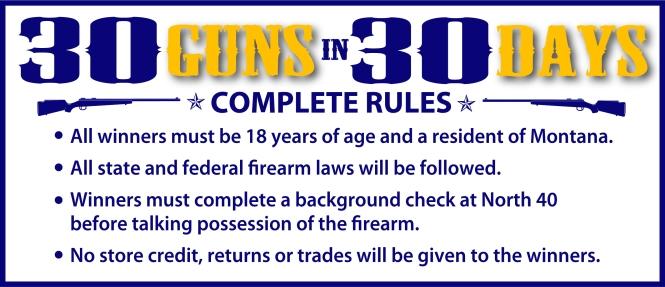 2017 Gun Rules