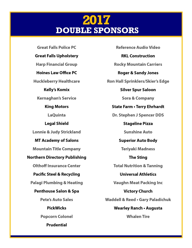 2017 Double Sponsors Page 2