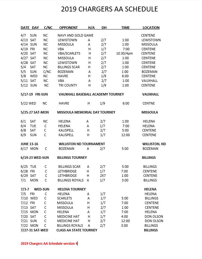 2019 AA Schedule ver 4